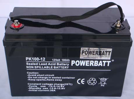 sealed lead acid 12v battery vrla